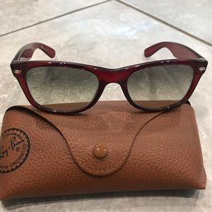 Never been worn Ray-Ban sunglasses